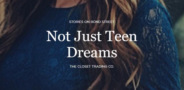 Not Just Teen Dreams