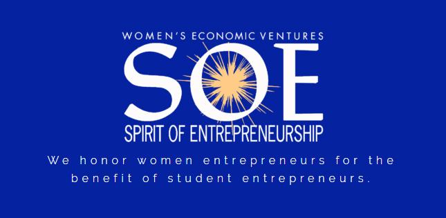 Women's Economic Ventures Spirit of Entrepreneurship logo
