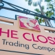 The Closet Trading Company Store Front Sign
