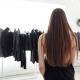 Woman impulse shopping